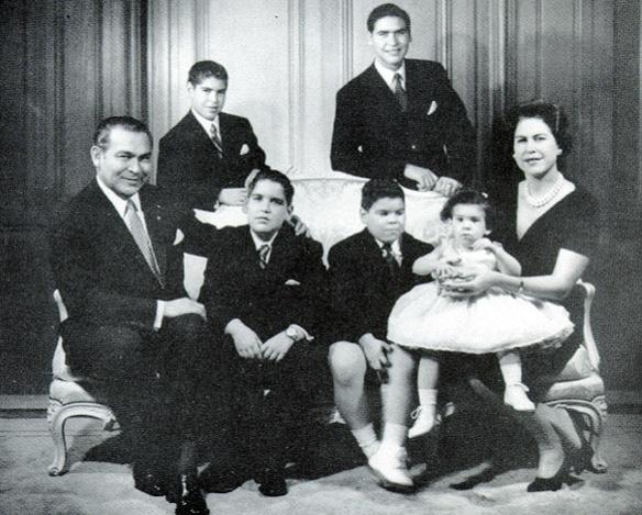 Fulgencio Batista y su familia. Años 50. (SECRETOS DE CUBA), Noticias SC